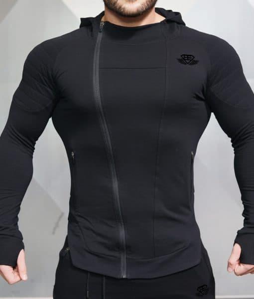 body engineers x neo vest black body en shape store. Black Bedroom Furniture Sets. Home Design Ideas