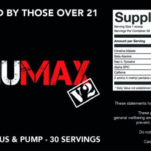 Strom Nutrition StimuMax