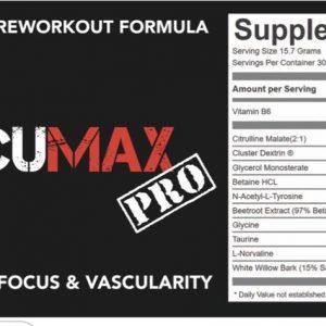 Strom Nutrition VascuMax Pro