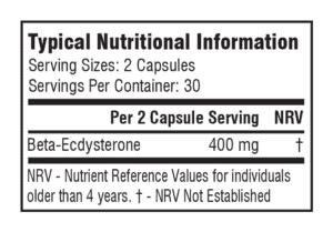 Supplements SA Beta Ecdystrone