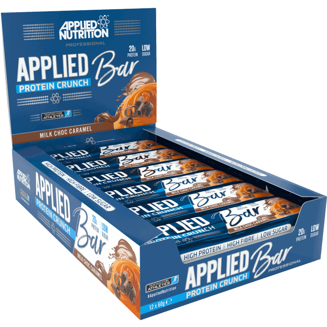 Applied Nutrition Protein Crunch Bars Box - 12 x 60 Gram