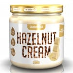 Quamtrax Nutrition White Chocolate Hazelnut Cream - 250 Gram