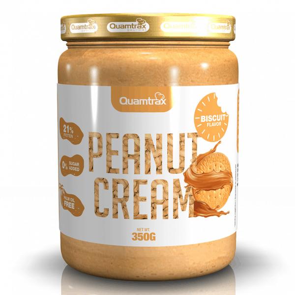 Quamtrax Nutrition Peanut & Bisquit Cream - 350 Gram