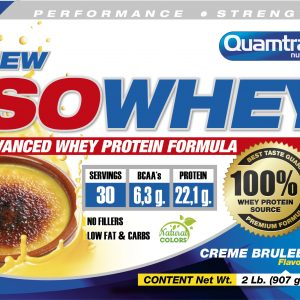 Quamtrax Nutrition Iso Whey - 908 Gram