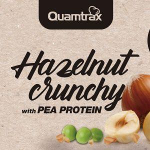 Quamtrax Nutrition Chocolate Hazelnut Crunchy - 250 Gram
