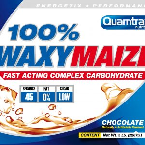 Quamtrax Nutrition 100% Waxy Maize - 2.2 Kg