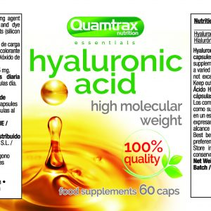 Quamtrax Nutrition Hyaluronic Acid - 60 Capsules