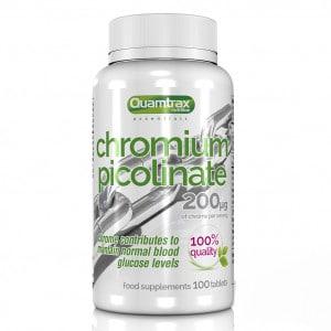 Quamtrax Nutrition Chromium Picolinate - 100 Tabletten