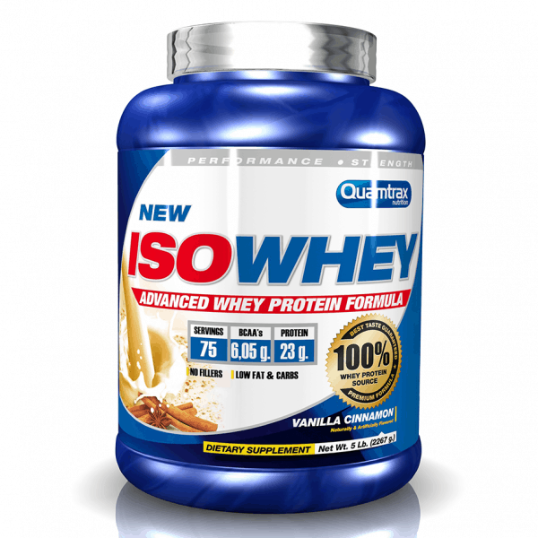 Quamtrax Nutrition Iso Whey - 2.2 Kg