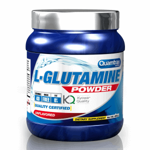 Quamtrax Nutrition L-Glutamine Powder - 400 Gram