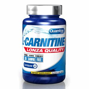 Quamtrax Nutrition L-Carnitine - 120 Capsules