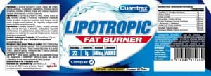 Quamtrax Nutrition Lipotropic Fat Burner - 90 Tabletten