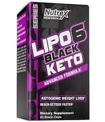 Nutrex Lipo 6 Black Keto - 60 Capsules