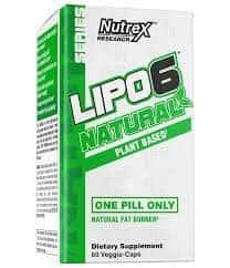 Nutrex Lipo 6 Black Natural - 60 Veggie Capsules