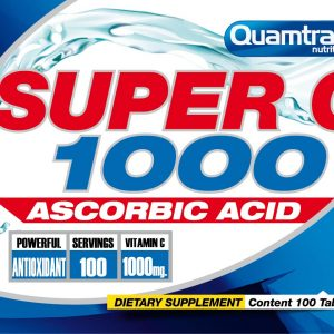 Quamtrax Nutrition Super C1000 - 100 Tabletten
