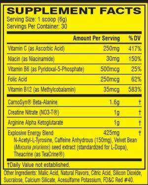 Cellucor C4 60 Servings - 380 Gram