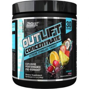 Nutrex Outlift 30 Servings Pre-Workout - 186 Gram