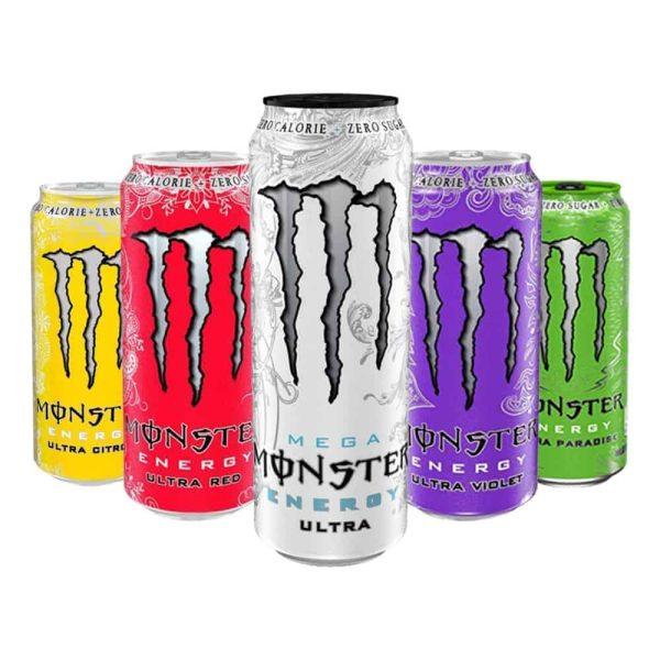 Monster Energy Ultra Zero Sugar - 12 x 500 ML