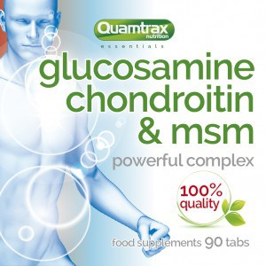 Quamtrax Nutrition Glucosamine Condroitin & MSM – 90 Tabletten