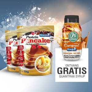 Quamtrax Nutrition Protein Pancakes -Free Syrup