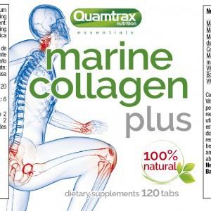 Quamtrax Nutrition Marine Collagen Peptan - 120 Capsules
