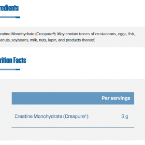 Quamtrax Nutrition CreaPure - 300 Gram