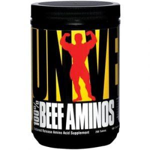 Universal 100% Beef Aminos - 200 Tabletten