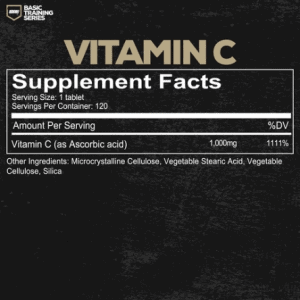 Redcon1 Basic Training Vitamin C - 120 Capsules