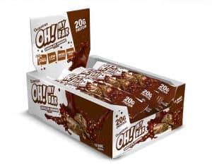 Quamtrax Nutrition Oh My Bars Box - 12 x 64 Gram
