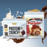 Quamtrax Nutrition Protein Pancake + Protein Crunchy Ontbijt Sample Pack