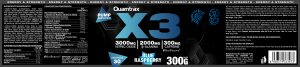Quamtrax Nutrition X3 Pre-Workout - 300 Gram