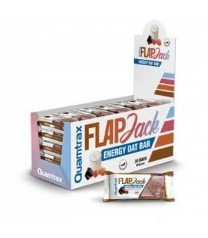 Quamtrax Nutrition Flapjack Energy Bars - 30 x 110 ML