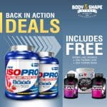 Quamtrax Iso Pro Protein + Thermolean, Thermo Burn & Sicarius