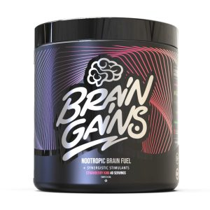 Brain Gains Nootropic Brain Fuel Black Edition – 260 Gram