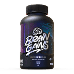 Brain Gains Nootropic Sleep Aid Black Edition - 120 Capsules