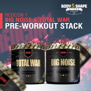 Redcon1 Big Noise + Total War Pre-Workout Stack